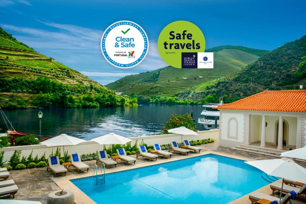 The swimming pool at or close to The Vintage House - Douro