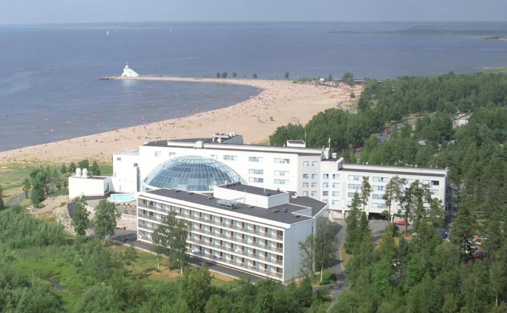 Vue panoramique sur l'établissement Break Sokos Hotel Eden