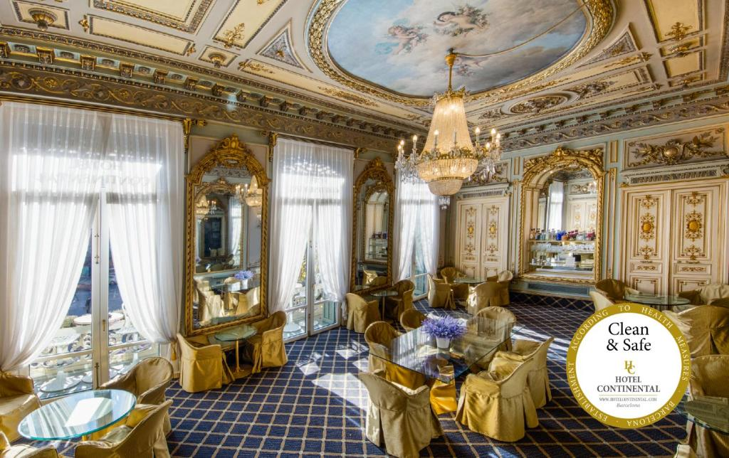 A restaurant or other place to eat at Hotel Continental Palacete