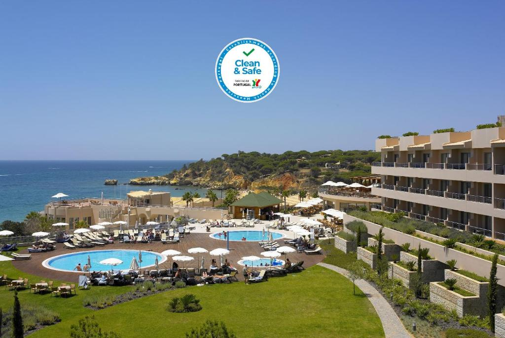 A view of the pool at Grande Real Santa Eulalia Resort & Hotel Spa or nearby