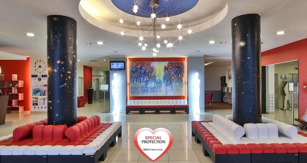 Hall o reception di Best Western Plus Hotel Galileo Padova