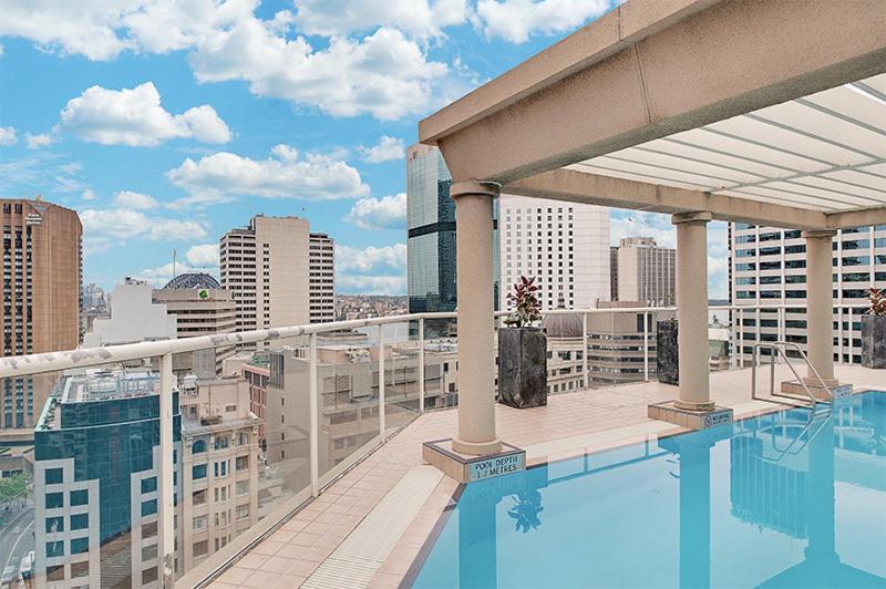 The swimming pool at or near Wyndel Apartments Sydney CBD - Bond