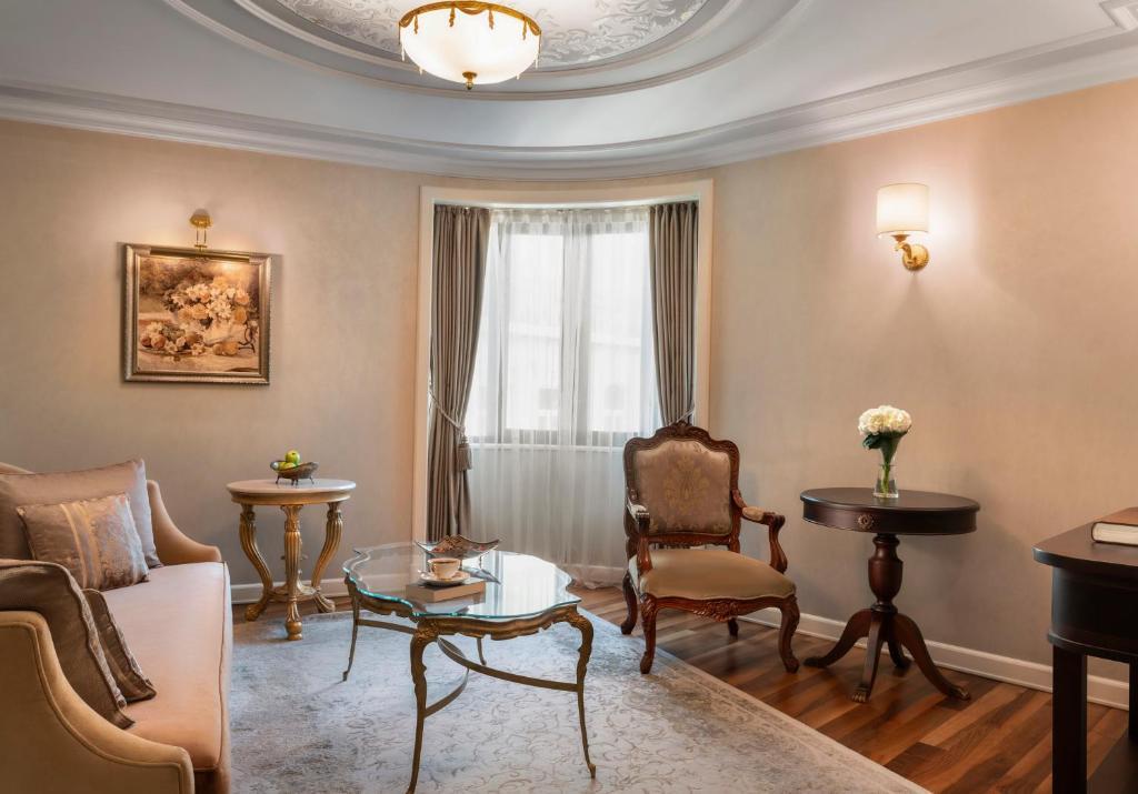 Coin salon dans l'établissement Rixos Pera Istanbul