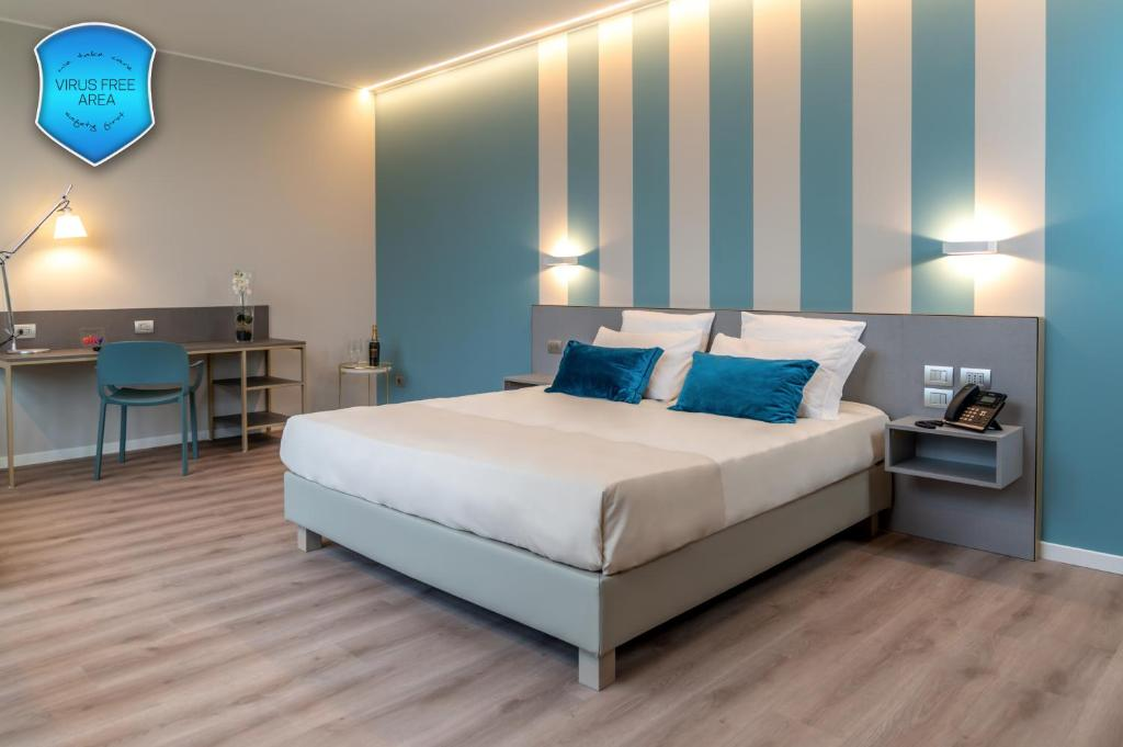 Letto o letti in una camera di Sleep Tide Suites