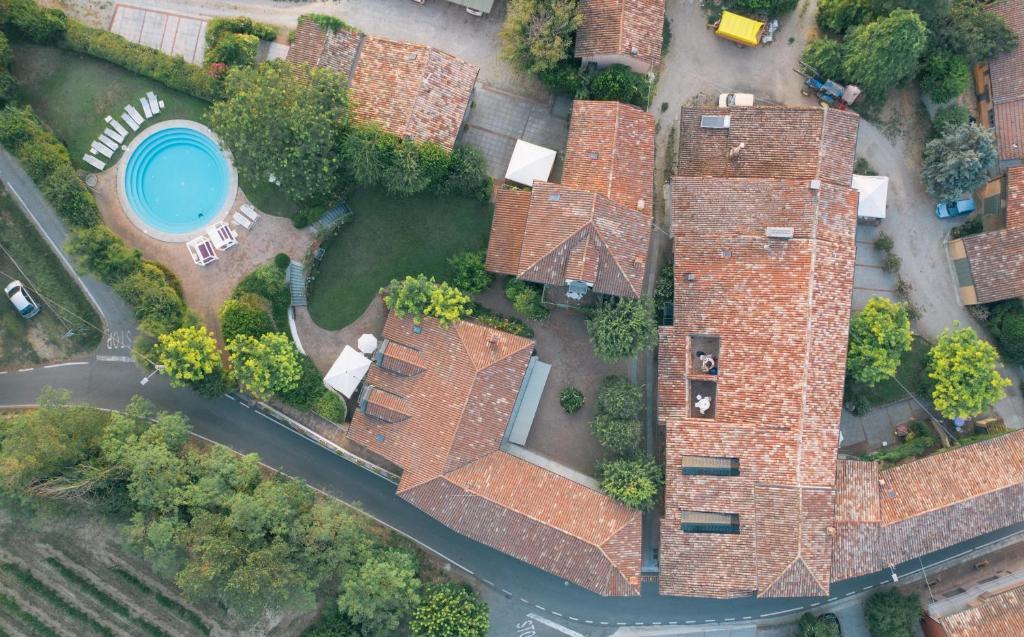Vista aerea di Hotel Relais Il Borgo