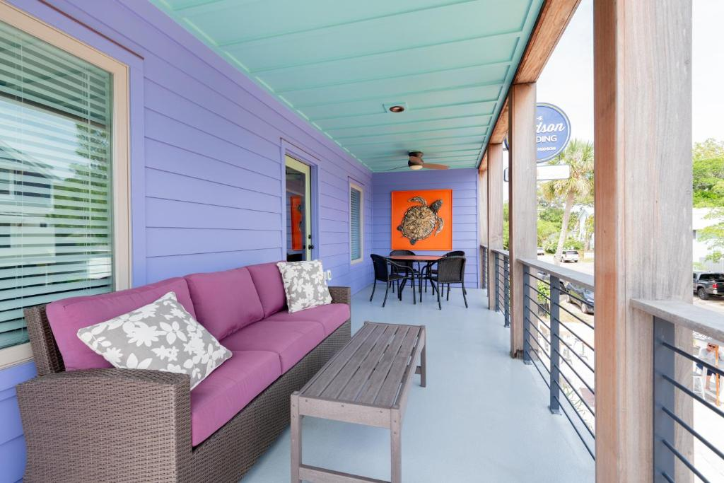 NEW Folly Vacation Listing, Perfect Purple Palace Apt A