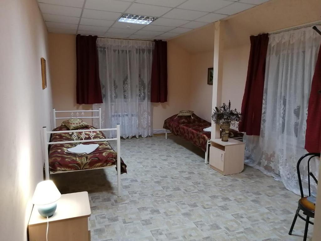 Гостиная зона в Mini Hotel Hosteliya