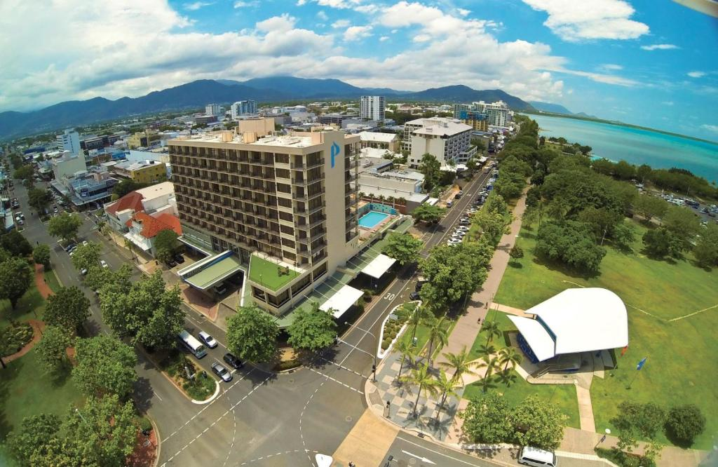 A bird's-eye view of Pacific Hotel Cairns