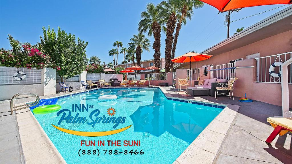The swimming pool at or near Inn at Palm Springs