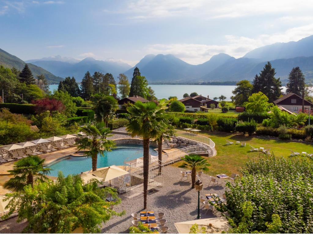 Hotel Les Grillons Talloires, France