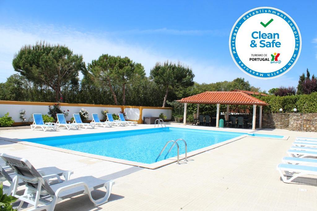 A piscina em ou perto de Casa de Campo Sao Rafael - Turismo Rural