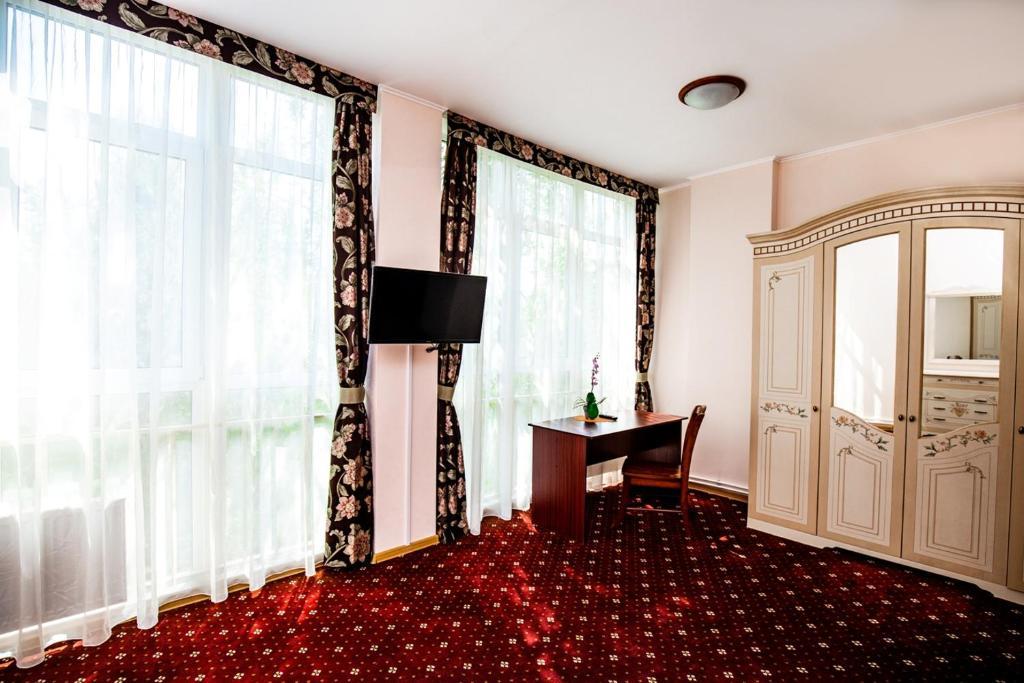 Телевизор и/или развлекательный центр в VIP Hostel на Волге