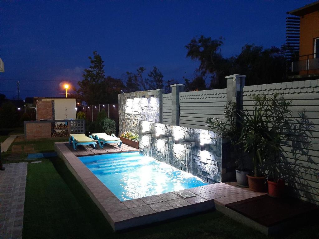 The swimming pool at or near Portofino Villa