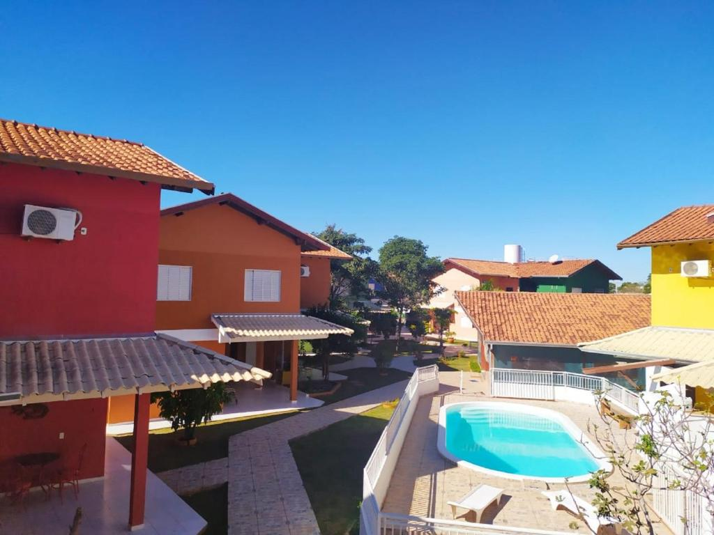 A view of the pool at Solar do Cerrado Hotel or nearby