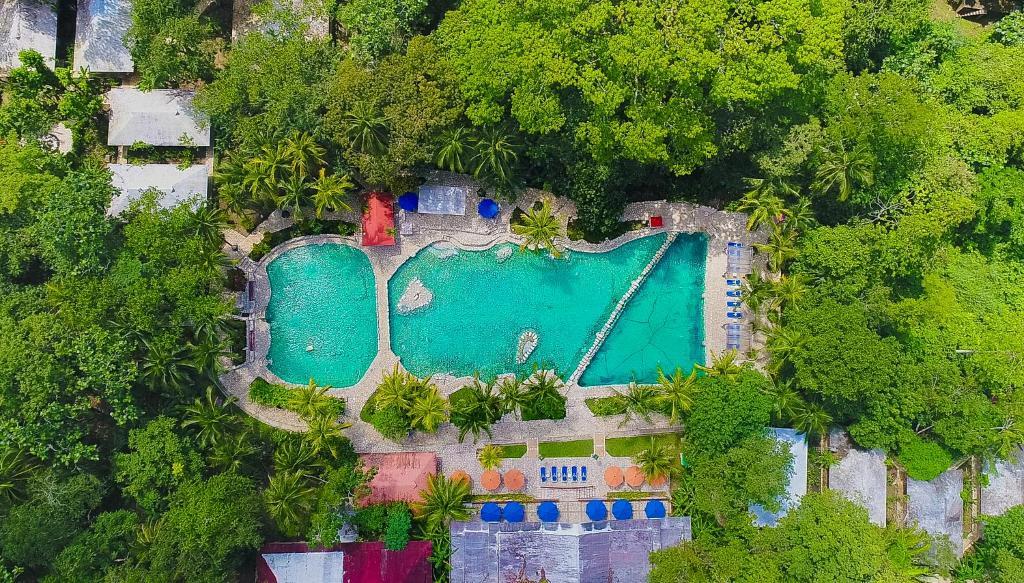A bird's-eye view of Hotel Chan-Kah Resort Village Convention Center & Maya Spa