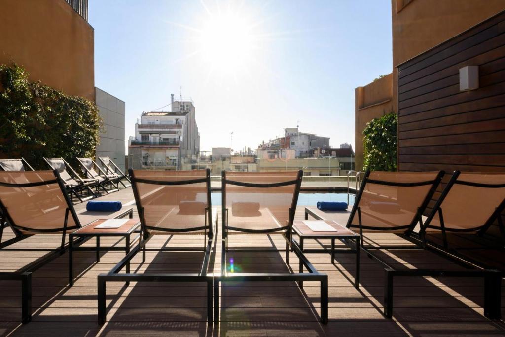 A balcony or terrace at Europark