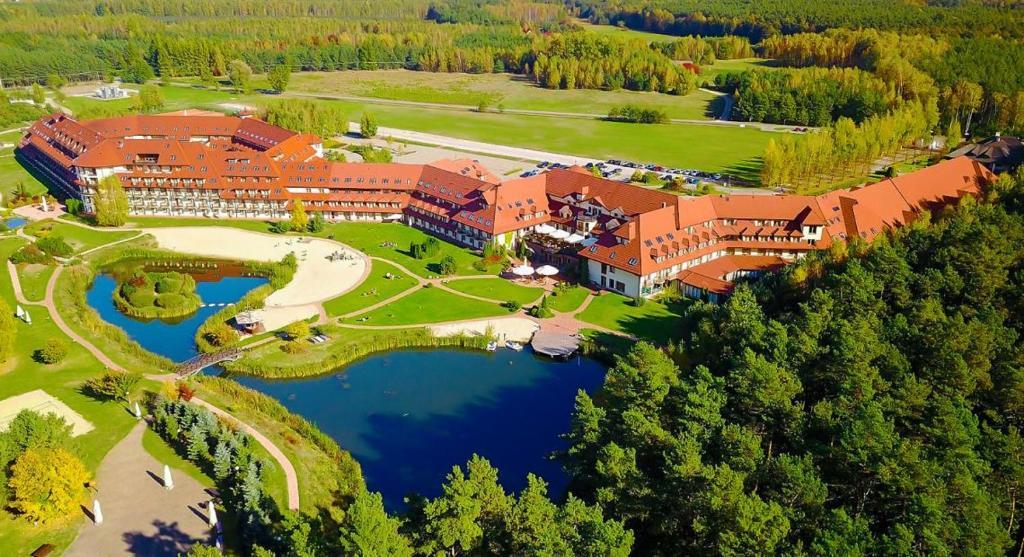 Hotel Ossa Conference & Spa с высоты птичьего полета