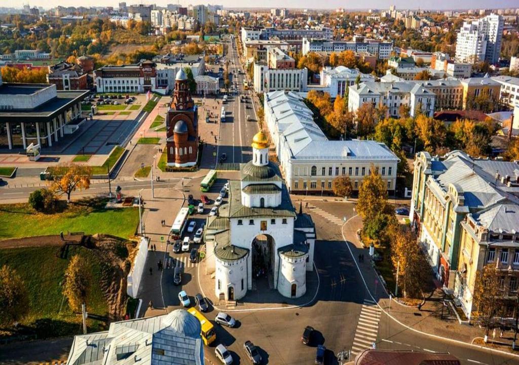 A bird's-eye view of Hotel Zastava