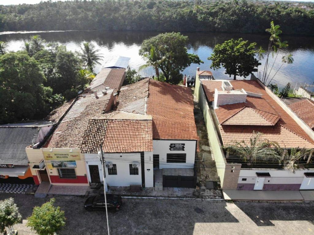 A bird's-eye view of Casa do Professor Hostel