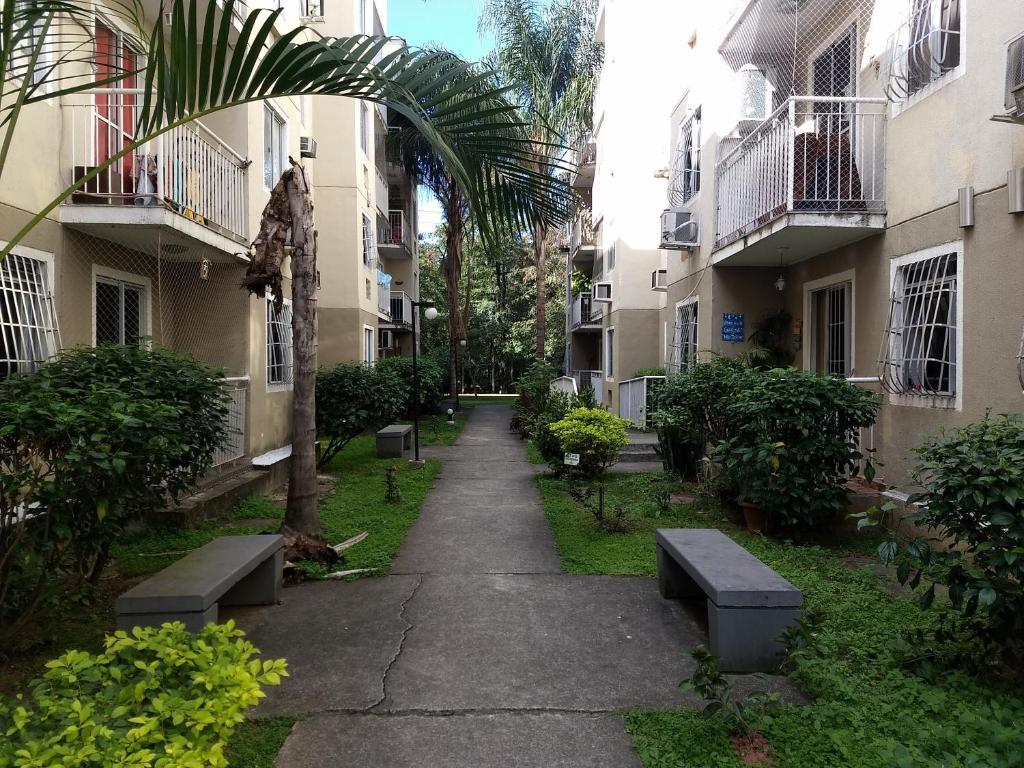 Apartamento no Cond Portal do Sol, Belford Roxo, 2 qts segurança 24h