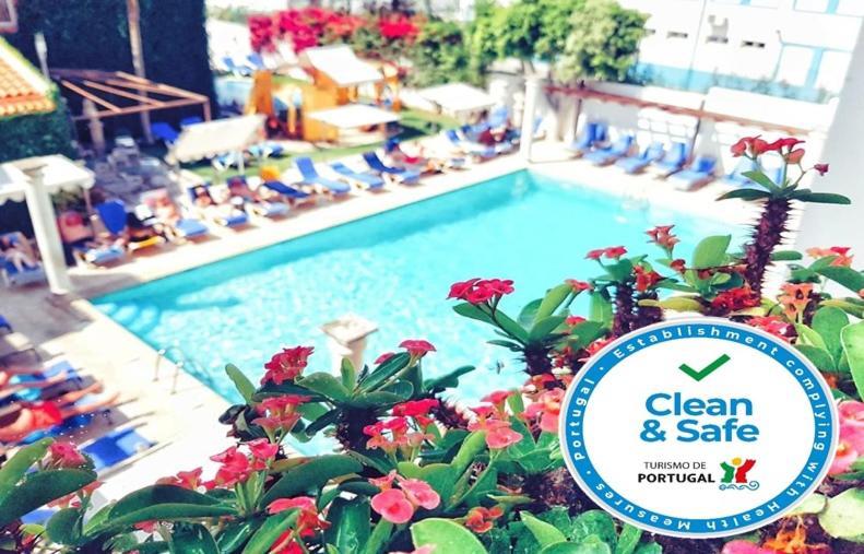 Uma vista da piscina em Hotel do Cerro ou nas proximidades