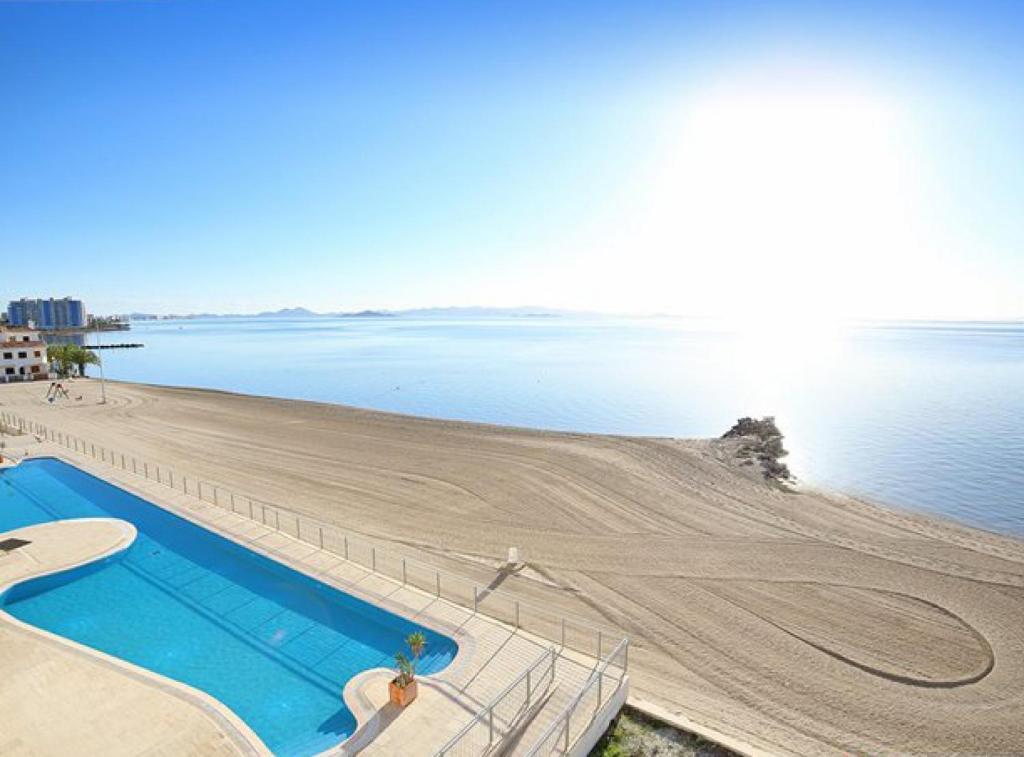 The swimming pool at or near R288 La Manga Beach Club MangaNorte