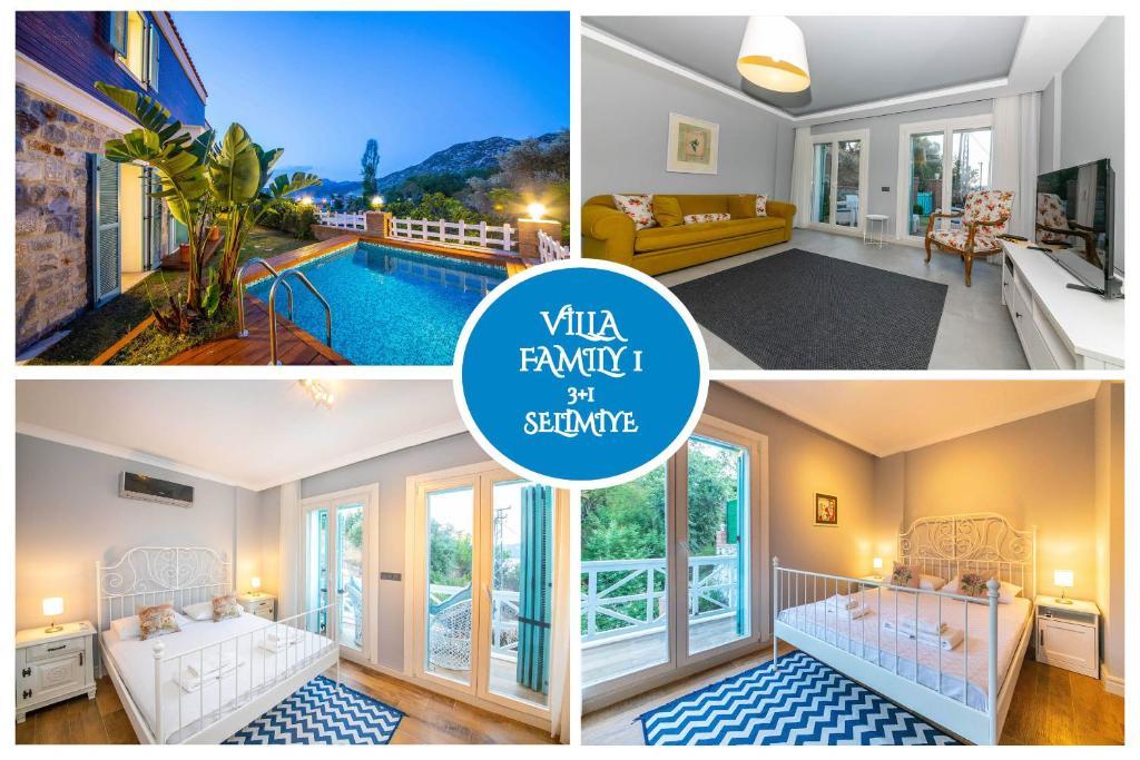 Villa Familia Selimiye Marmaris Daily Weekly Rentals