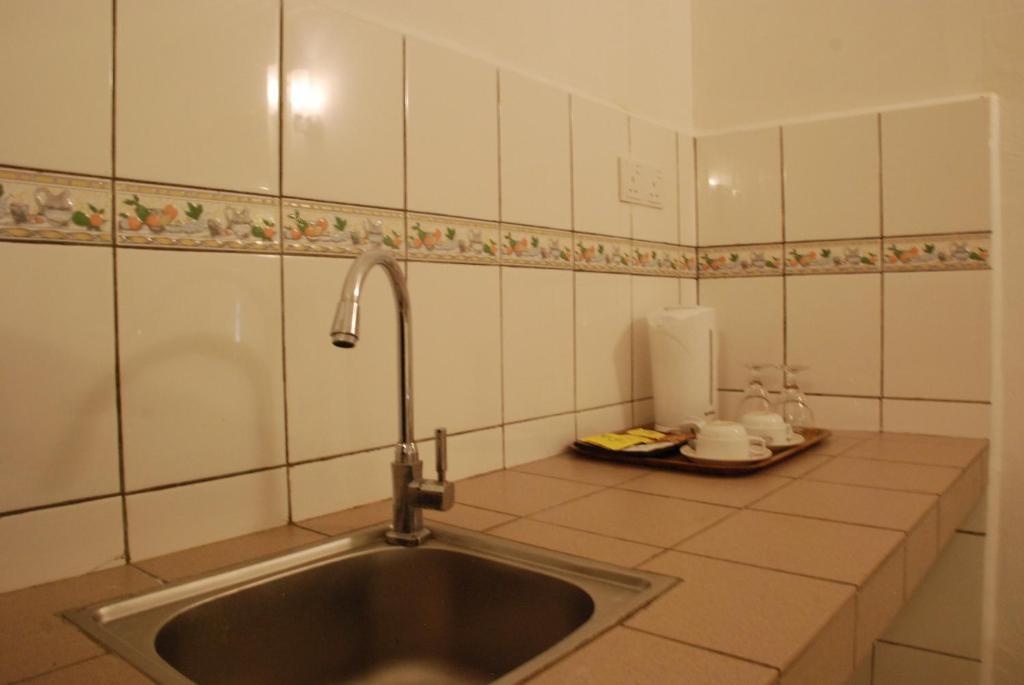 Tempat memasak dan sinki Promenade Service Apartment KK