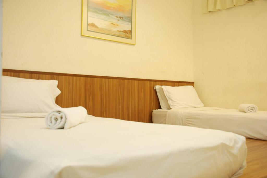 Katil di Promenade Service Apartment KK