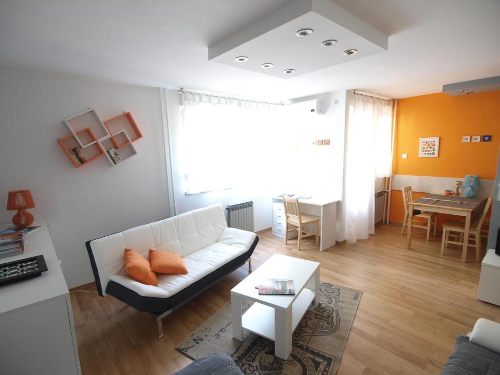 A seating area at Apartman Design Maksimir
