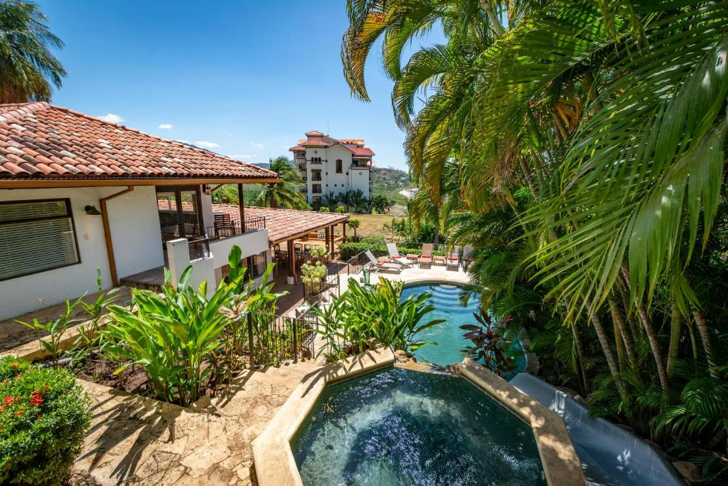 A view of the pool at Luxury 4-bedroom home a short walk from the beach or nearby
