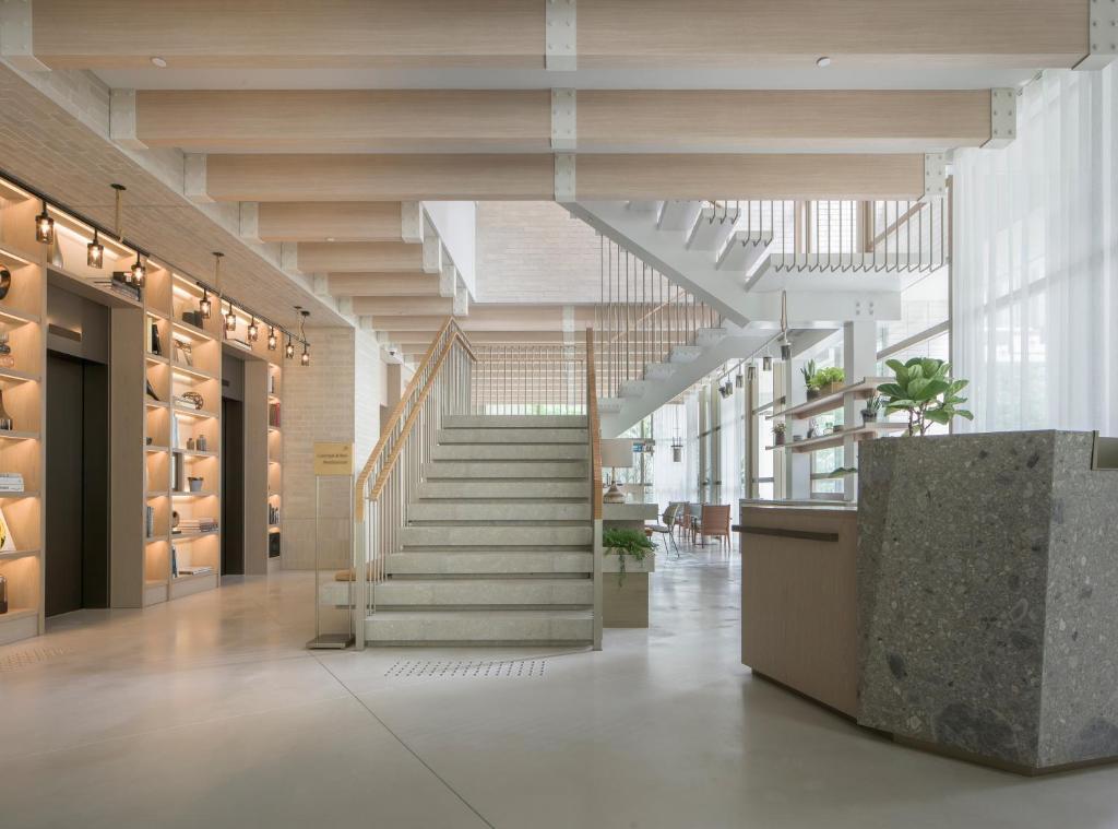 The lobby or reception area at Zentis Osaka