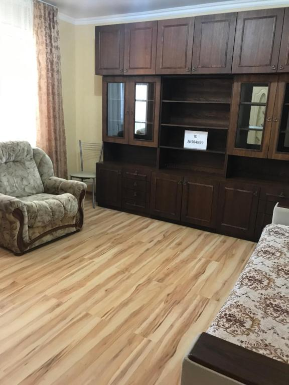 Гостиная зона в Apartment on Lenina