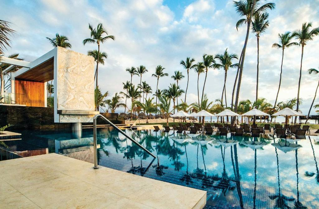 The swimming pool at or near Secrets Royal Beach Punta Cana - Adults Only