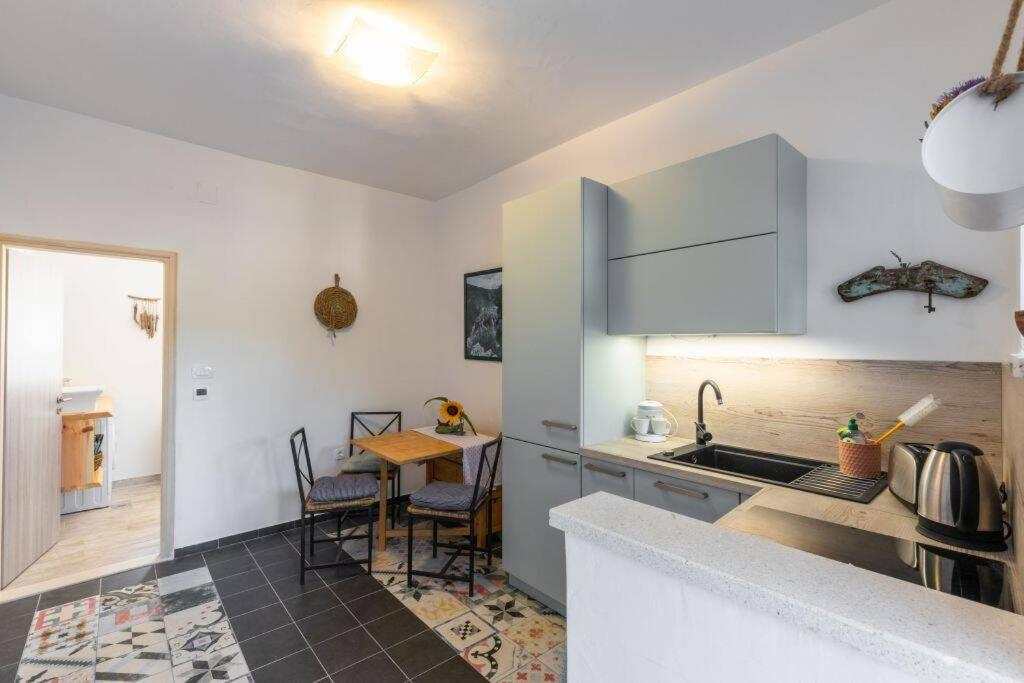 A kitchen or kitchenette at Apartment Amula