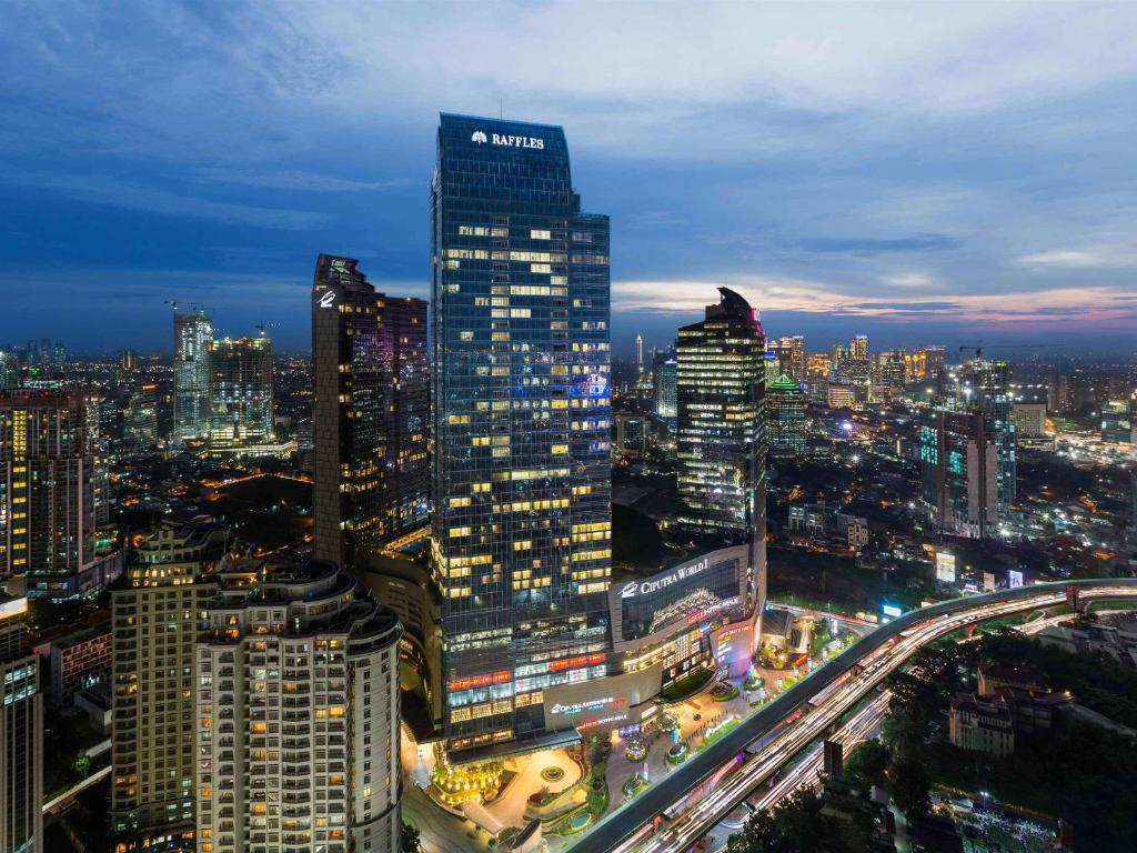 A bird's-eye view of Raffles Jakarta
