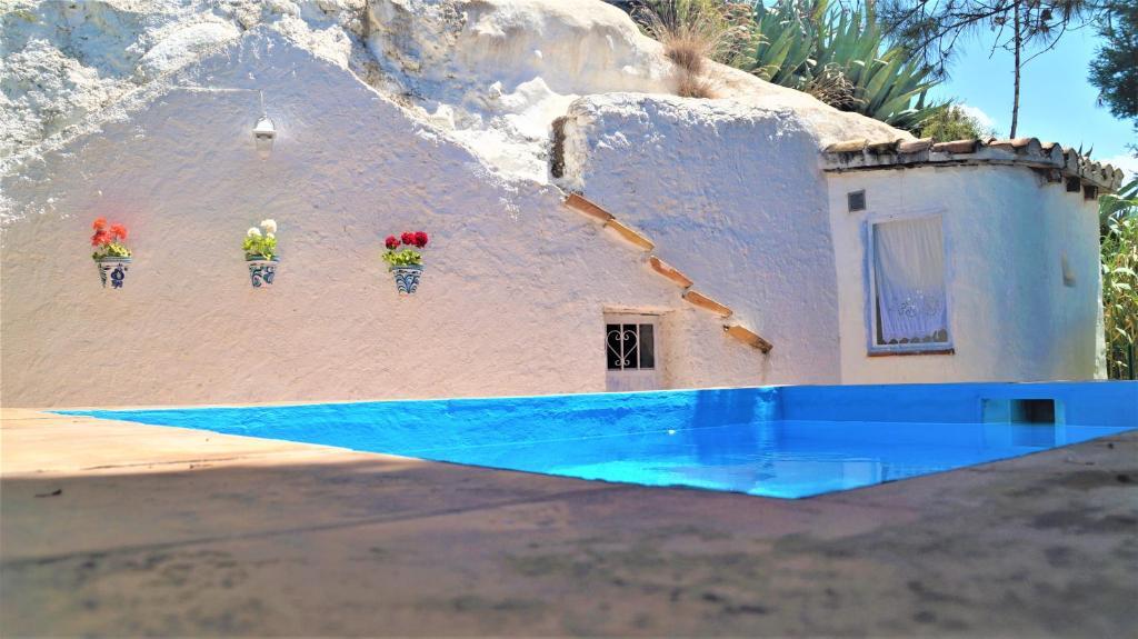 """The swimming pool at or near Casa Cueva """"La Estrella"""""""