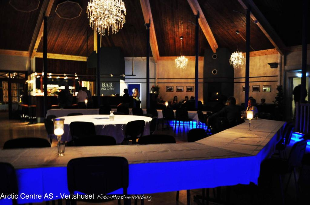 A restaurant or other place to eat at Arctic Centre Resort