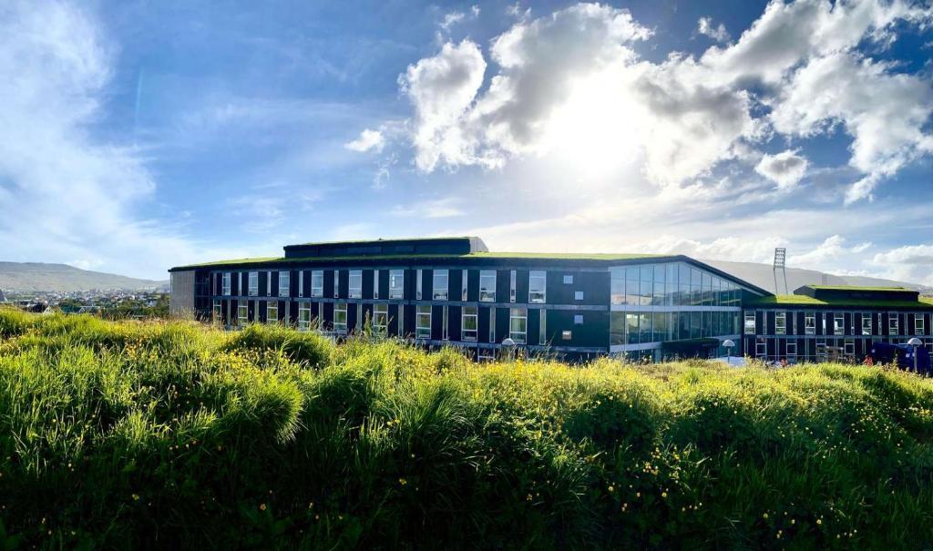 Hotel Brandan Tórshavn, Färöer, Juli 2020