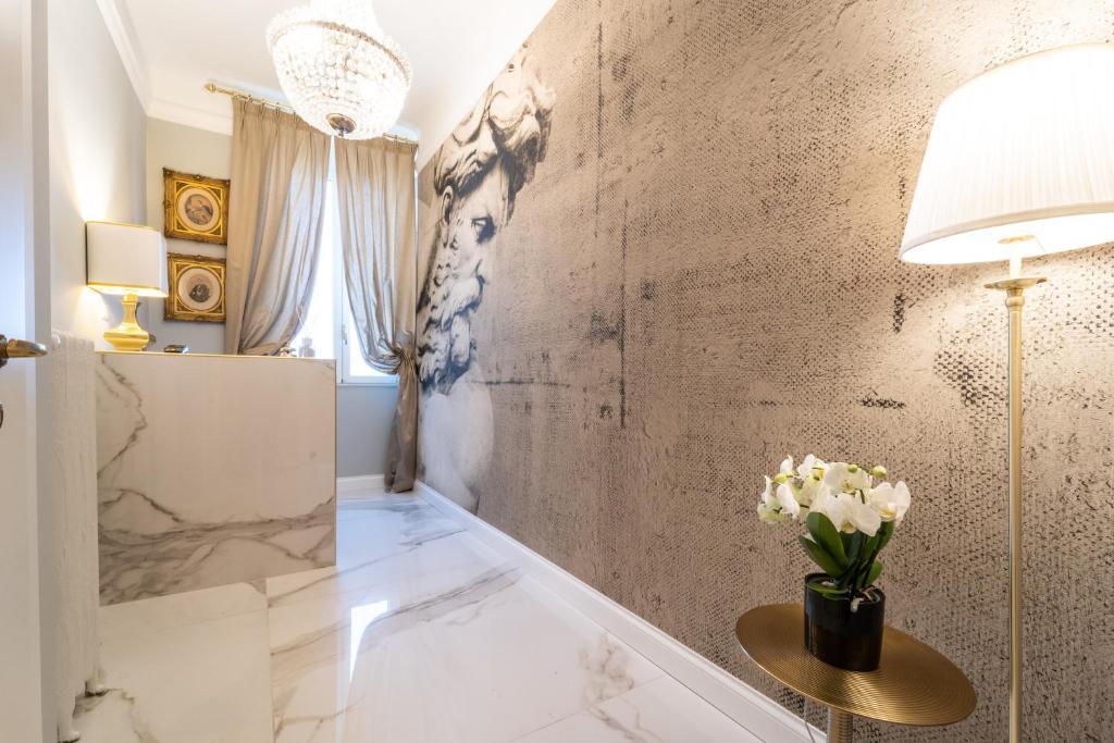 Area soggiorno di Le Dimore Suites Milano