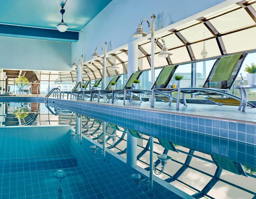 The swimming pool at or near Chelsea Hotel Toronto