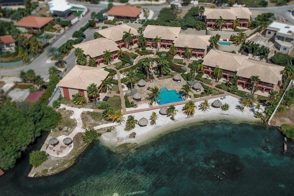 Uma vista aérea de Sea view apartment Jan Thiel