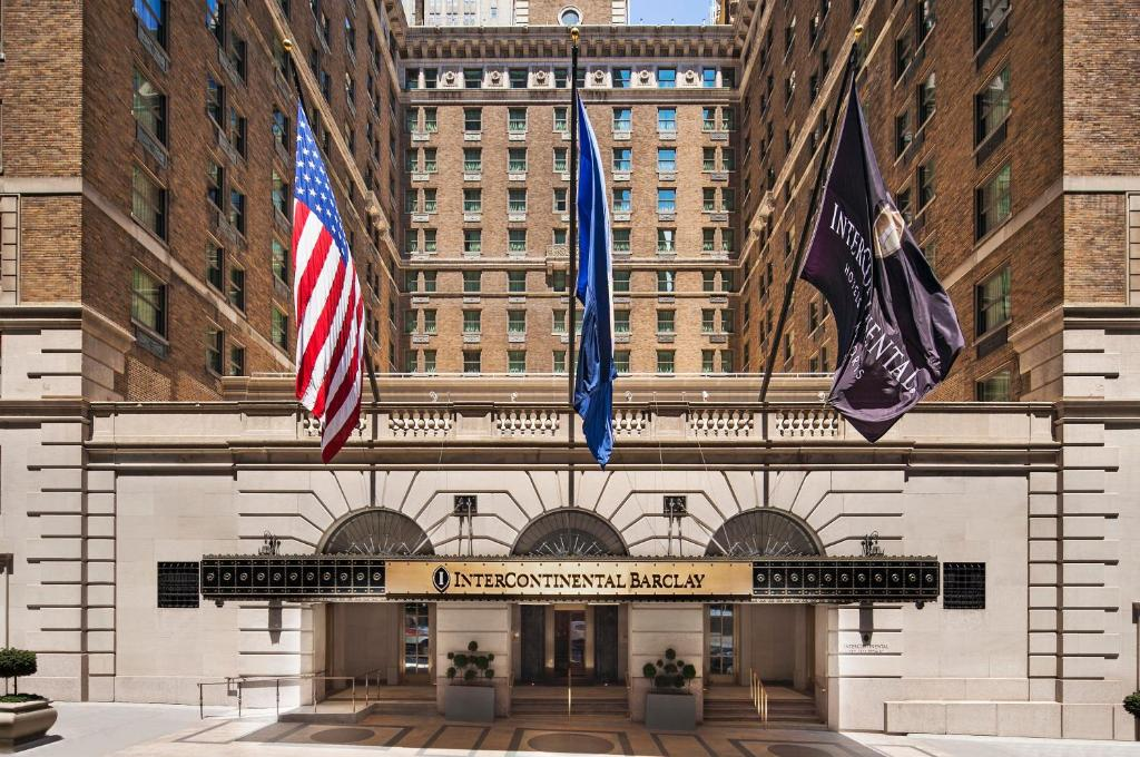 The InterContinental New York Barclay Hotel.