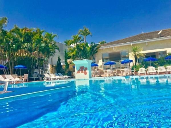 A piscina localizada em Atibaia Residence Hotel & Resort ou nos arredores