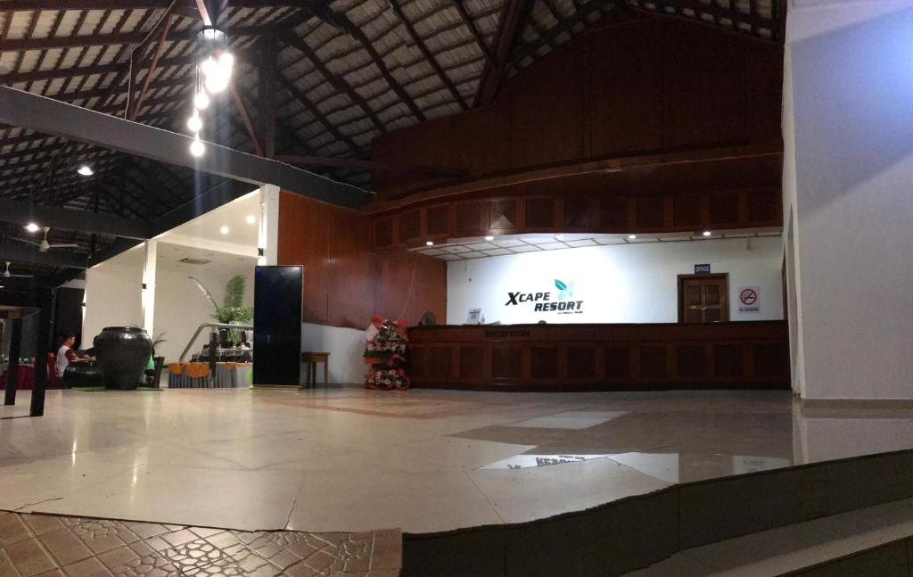 The lobby or reception area at Xcape Resort Taman Negara