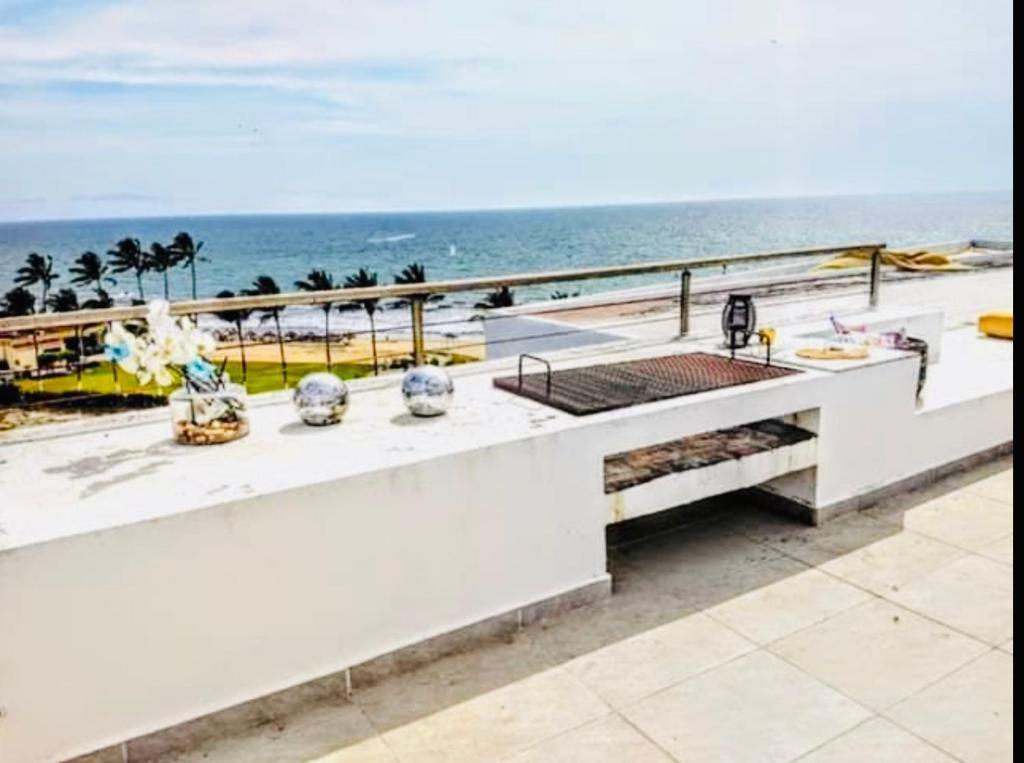 Penthouse con alberca privada a pie de playa