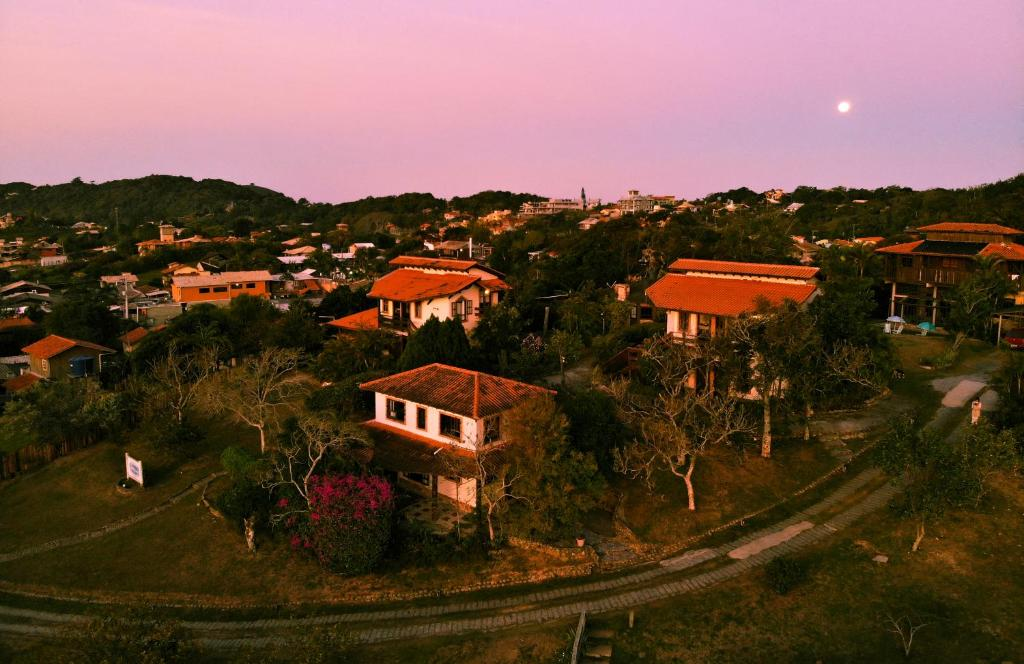 Uma vista aérea de Pousada Sunset