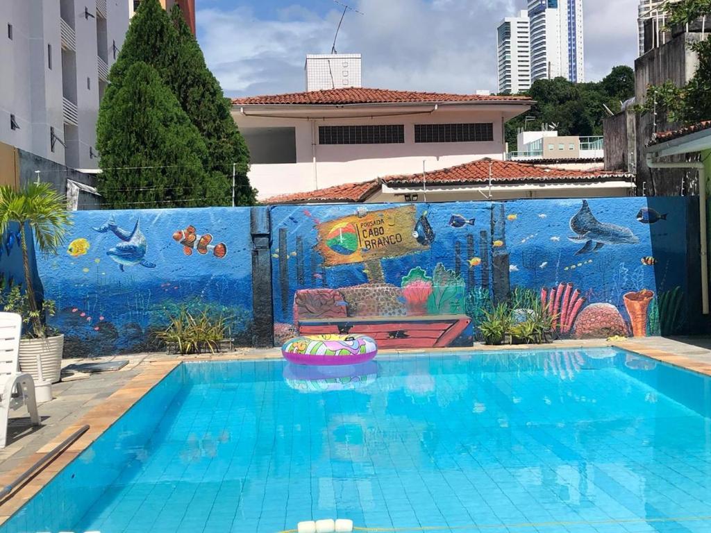 The swimming pool at or near Pousada Cabo Branco
