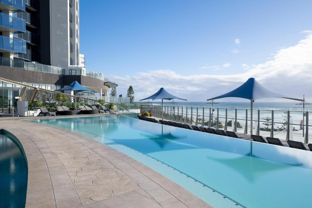 The swimming pool at or near Peppers Soul Surfers Paradise