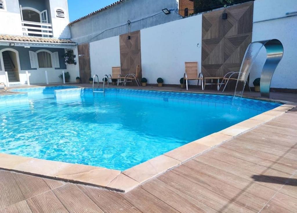 A piscina localizada em Pousada do Moinho ou nos arredores